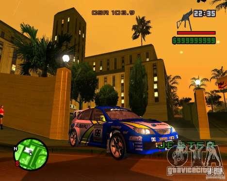 DiRT 2 Subaru Impreza WRX STi для GTA San Andreas