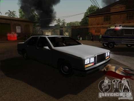 New Elegant для GTA San Andreas вид сзади