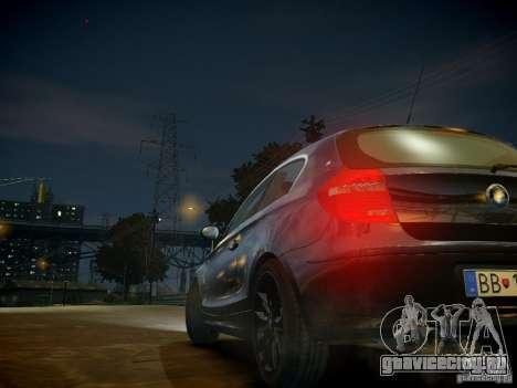 BMW 120i для GTA 4 вид снизу