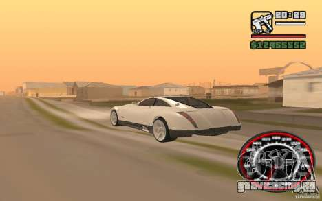 Maybach Exelero для GTA San Andreas вид слева