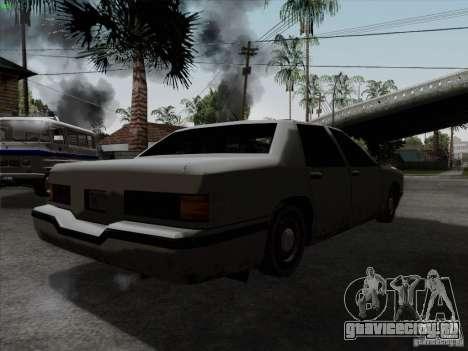 New Elegant для GTA San Andreas вид сзади слева