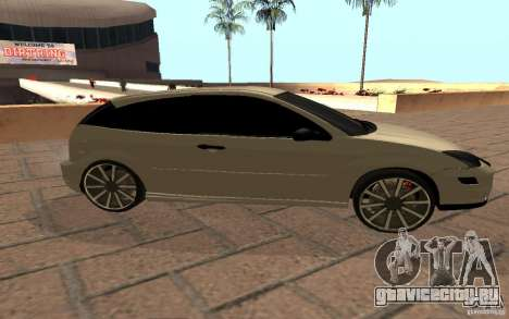 Ford Focus Light Tuning для GTA San Andreas вид сзади слева