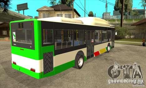 Mercedes Benz MAN Lions City CNG для GTA San Andreas вид справа