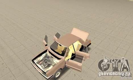 Ford Taunus 1978 для GTA San Andreas вид сзади