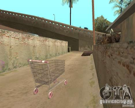 Remapping Ghetto v.1.0 для GTA San Andreas седьмой скриншот