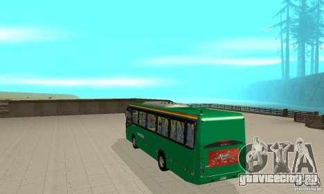 MetroBus of Venezuela для GTA San Andreas вид справа