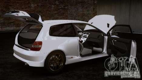 Honda Civic Type-R (EP3) для GTA 4 вид сзади слева