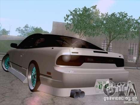 Nissan 240SX V2 для GTA San Andreas вид слева