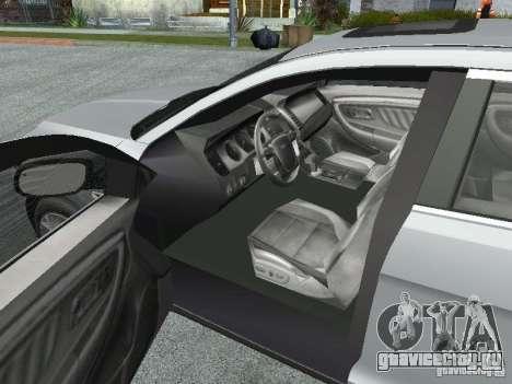 Ford Taurus для GTA San Andreas вид сзади