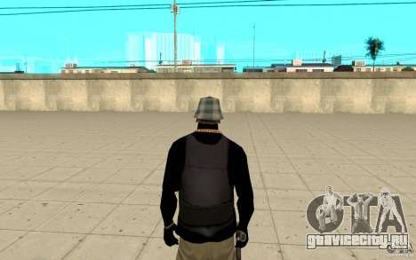 Броник скин 4 для GTA San Andreas третий скриншот