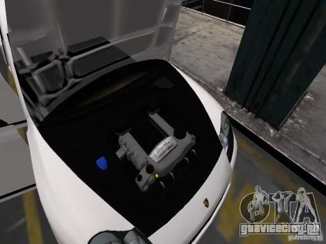 Porsche Cayenne Turbo 2003 v.2.0 для GTA 4 салон
