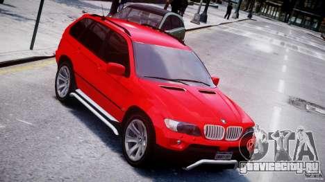 BMW X5 E53 v1.3 для GTA 4 вид сверху