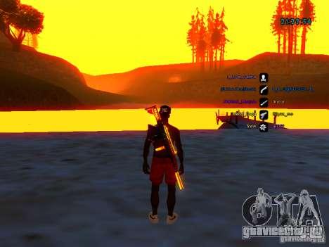 Skin pack для samp-rp для GTA San Andreas второй скриншот