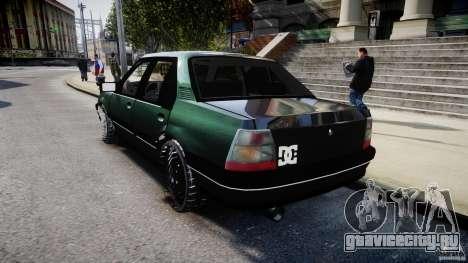 Chevrolet Monza GLS 96 для GTA 4 вид сзади слева