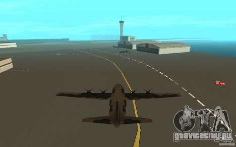 C-130 From Black Ops для GTA San Andreas вид справа