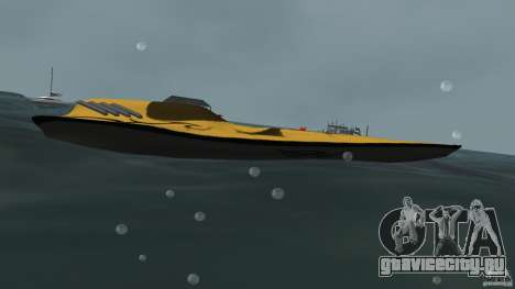 X-87 Offshore Racer для GTA Vice City вид слева