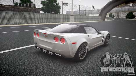 Chevrolet Corvette ZR1 2009 для GTA 4 вид сбоку