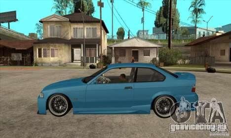 BMW M3 HAMMAN для GTA San Andreas вид слева