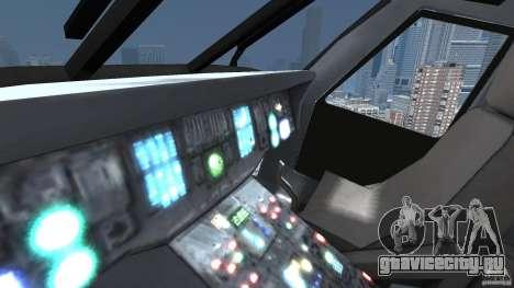 Sikorsky UH-60 Black Hawk для GTA 4 вид изнутри