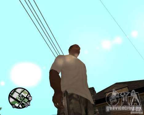 Нормальные руки CJя для GTA San Andreas третий скриншот
