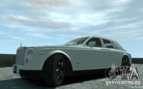 Rolls-Royce Phantom для GTA 4 вид слева