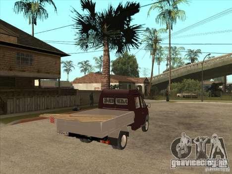ГАЗ 33023 для GTA San Andreas вид справа