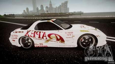 Mazda RX7 FD Apex Imamura для GTA 4 вид изнутри