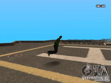 Паркур Мод для GTA San Andreas двенадцатый скриншот