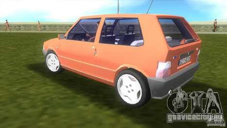 Fiat Uno для GTA Vice City вид слева