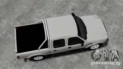 Ford Ranger 2008 XLR для GTA 4 вид справа
