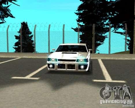 Azik Sultan для GTA San Andreas вид изнутри
