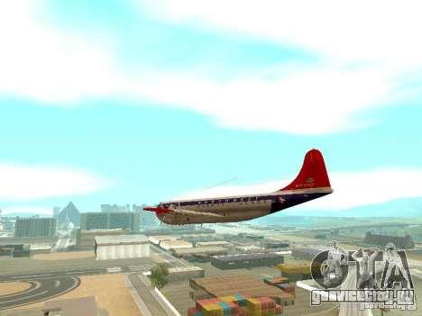 Boeing 377 Stratocruiser для GTA San Andreas вид справа