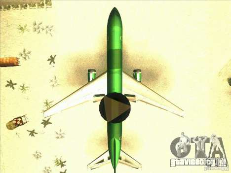 Boeing E-767 для GTA San Andreas вид изнутри