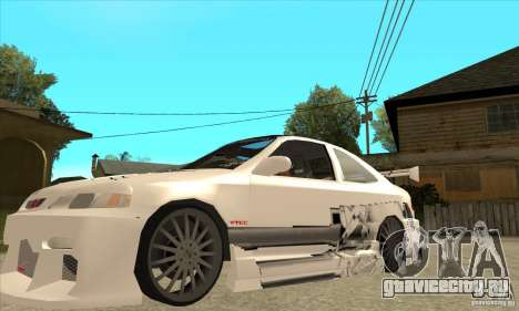 Honda Civic Tuning Tunable для GTA San Andreas колёса