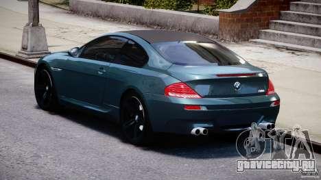 BMW M6 2010 v1.5 для GTA 4 вид сбоку