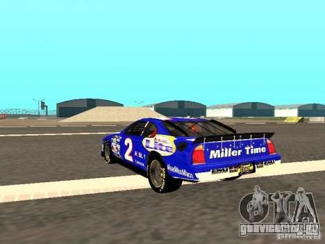 Ford Taurus Nascar LITE для GTA San Andreas вид сзади слева
