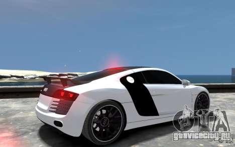Audi R8 2008 Beta для GTA 4 вид справа