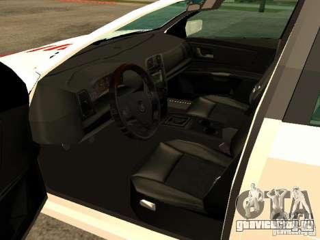 Cadillac CTS 2003 Tunable для GTA San Andreas вид сзади слева