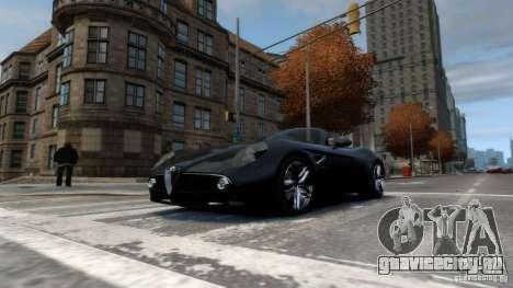 Alfa Romeo 8C Competizione Spider v1.0 для GTA 4 вид слева