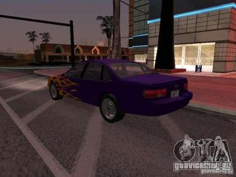 Chevrolet Impala SS 1995 для GTA San Andreas двигатель