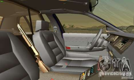 Ford Crown Victoria Masachussttss Police для GTA San Andreas вид сзади слева