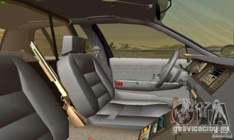 Ford Crown Victoria Masachussttss Police для GTA San Andreas вид сзади слева