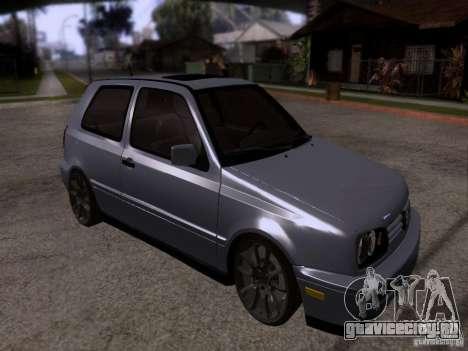 Volkswagen Golf 3 VR6 для GTA San Andreas
