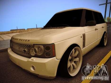 Land Rover Range Rover Supercharged 2008 для GTA San Andreas
