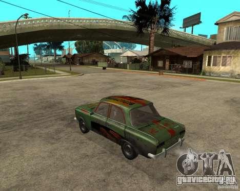 Москвич 412 bloodring для GTA San Andreas вид слева