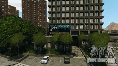 Remake second police station для GTA 4 второй скриншот