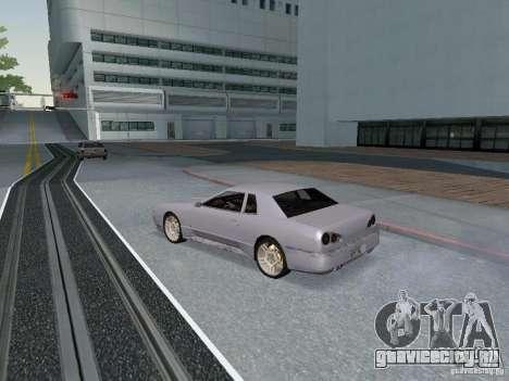 Elegy HD для GTA San Andreas вид сзади