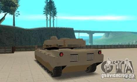 Танк Lame nel Rhino для GTA San Andreas вид сзади слева