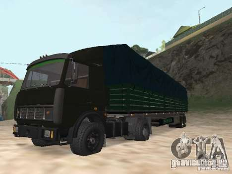МАЗ 5432 для GTA San Andreas вид сзади