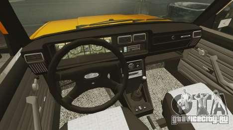 ВАЗ-2107 для GTA 4 вид справа
